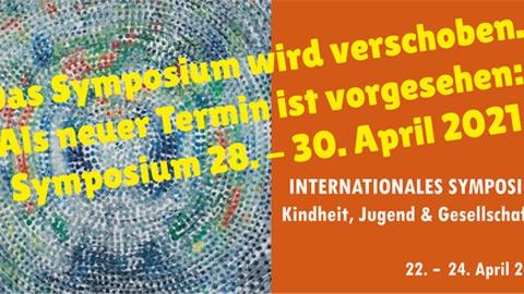 Neuer Termin Symposium: 28. bis 30. April 2021