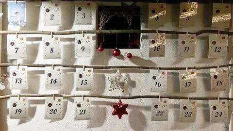 Ein Adventkalender, der Mut macht