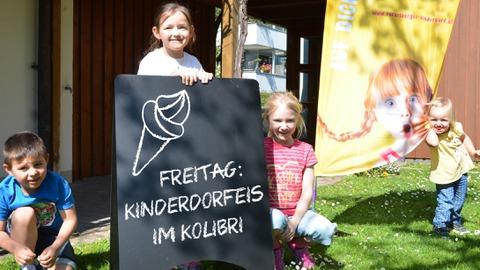 Kolibris Kinderdorf-Eis goes Ländle